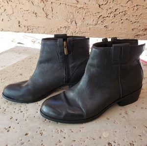 Sam Edelman black leather booties James boots